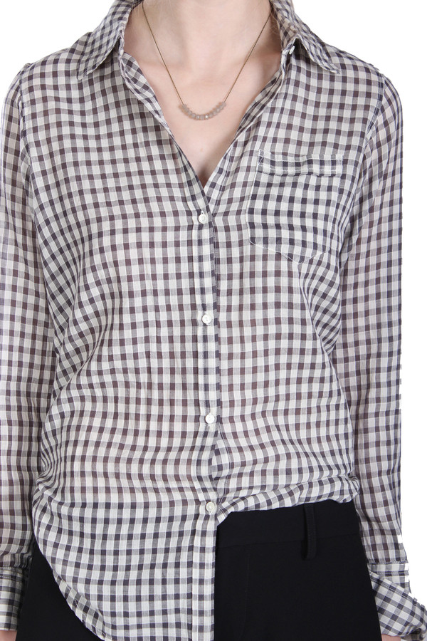 Nili Lotan Shirt Gingham