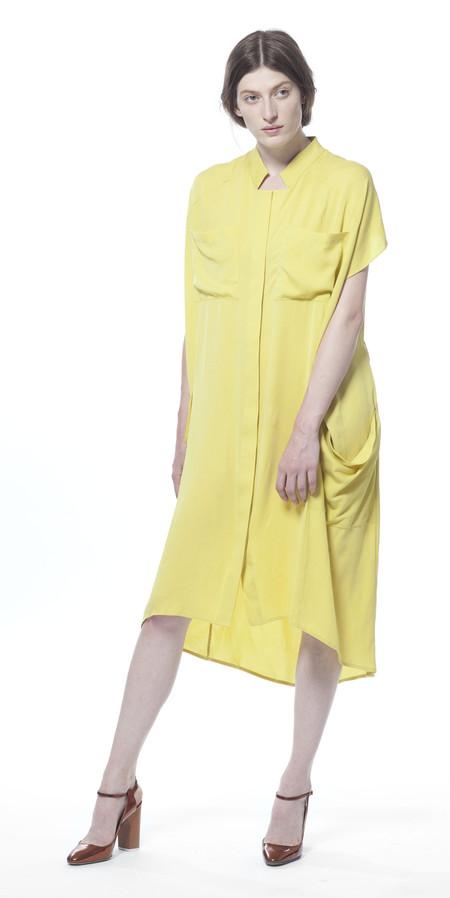 SCHAI Ultime Silk Shirtdress