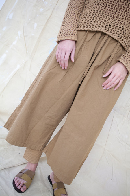 Lauren Manoogian Hakama Pant in Paper Brown