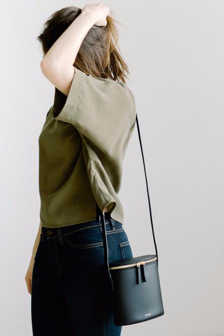 Cuero & Mor Mini Bucket - Black