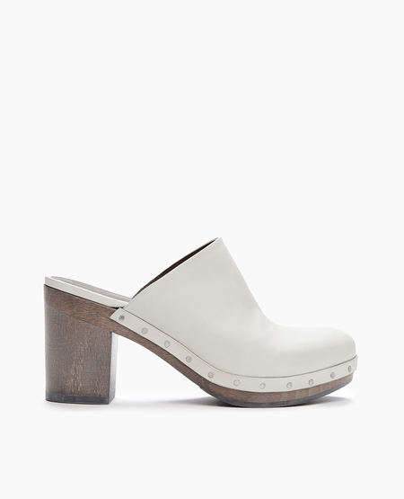 COCLICO CLOG IN VEGETABLE-TANNED ITALIAN LEATHER