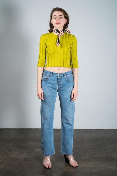 Suzanne Rae Cotton Pleat Knit