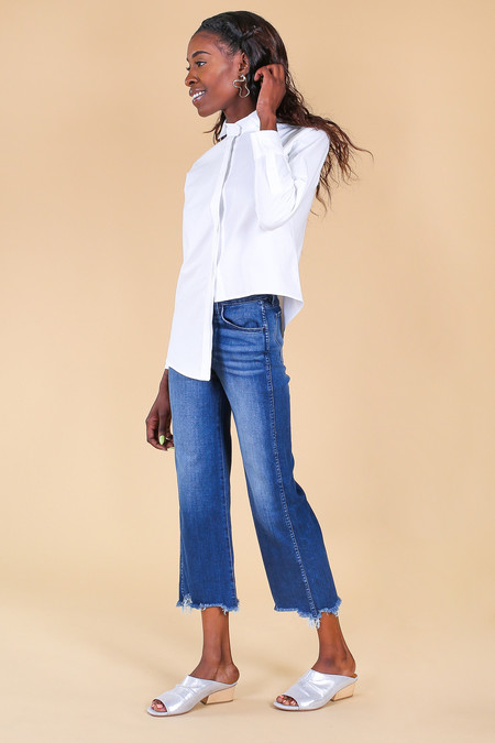 3x1 Shelter Wide Leg Crop Jean in Lawndale
