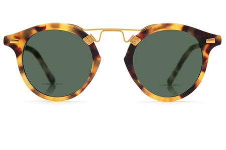 Krewe du Optic St. Louis Sunglasses in Matte Tokyo Tortoise