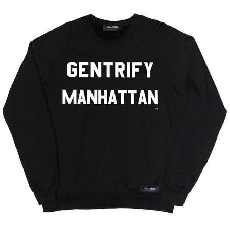 Unisex Skim Milk GENTRIFY MANHATTAN