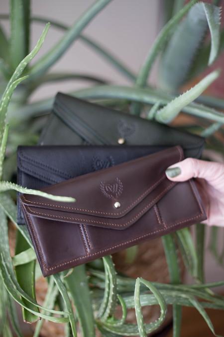 Corinne Wilde Double Flap Wallet