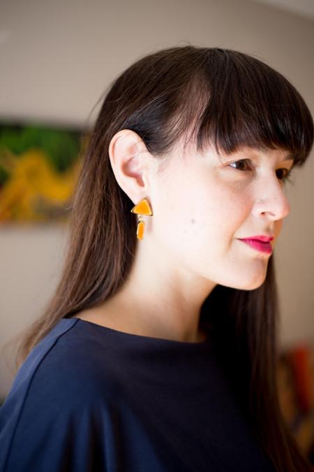 Studio Sophia Sophia Best Behaved Earrings (Orange)