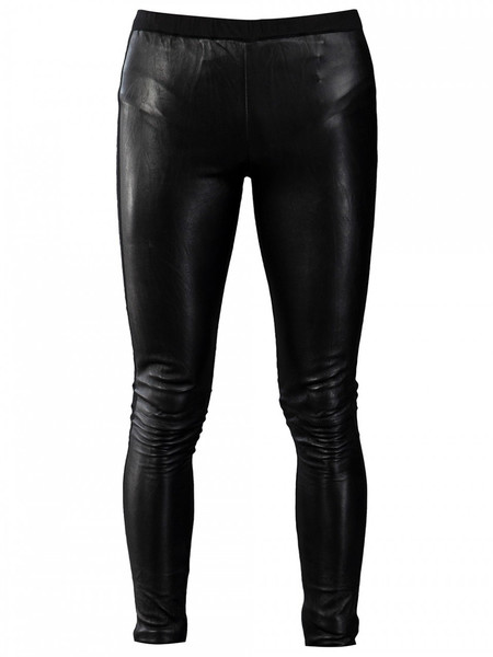 Men's HORACE FULL FRONT LEATHER LEGGINGS