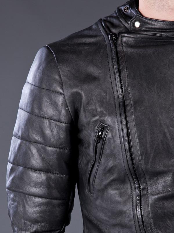 Men's Horace leather Biker Jacket