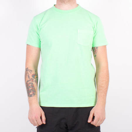 Velva Sheen S/S Pigment Dyed Pocket Tee - Mint