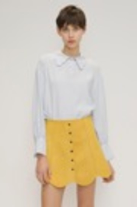 O.O Once Scallop Blouse