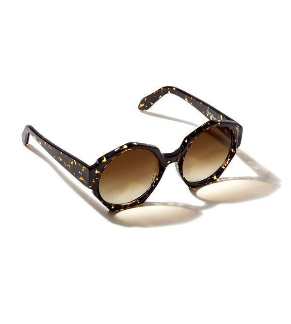 ZANZAN Ortolan Sunglasses in Treacle