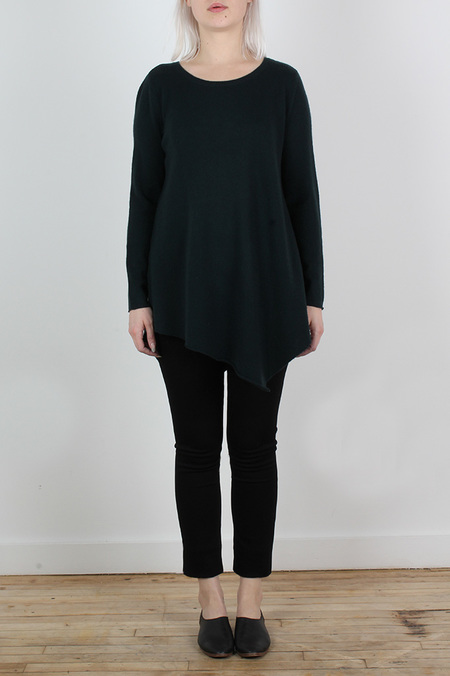 JOIE TAMBREL ASYMMETRICAL HEM SWEATER