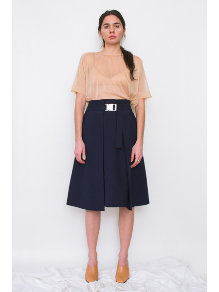Andrea Jiapei Li Pleated Skirt