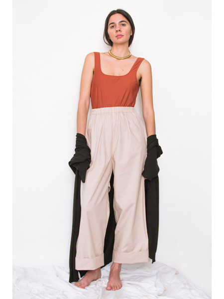Rowena Sartin Back Loop Cuff Pants