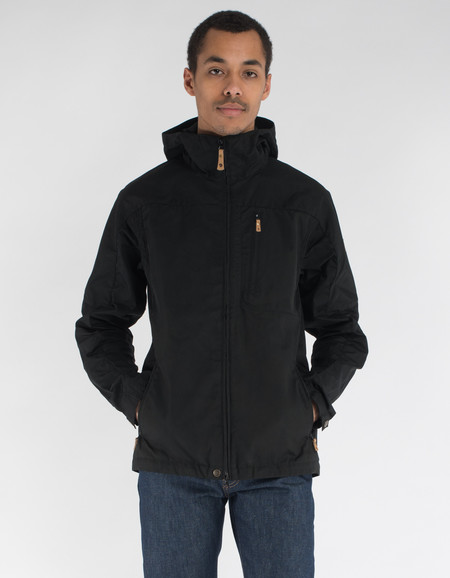 Fjallraven Sten Jacket Black