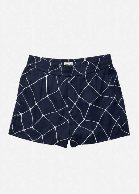 YOU AS Orion Shorts in Navy