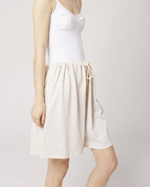 Baserange All-Over Printed Maxi Shorts