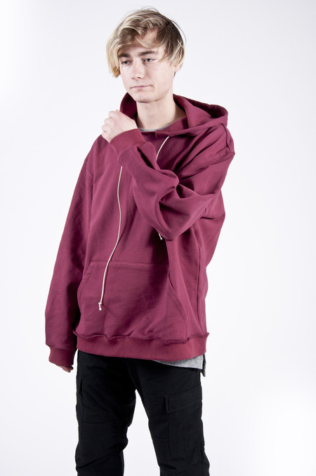 MR. COMPLETELY Factory Hoodie Burgundy