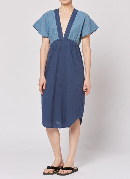 Built by Wendy Summer Dress - Navy/Pewter