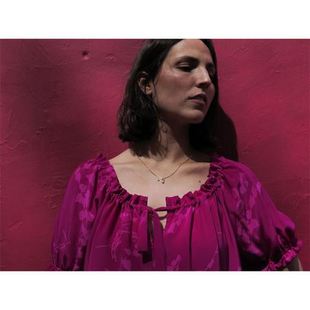 Erica Tanov papillon blouse