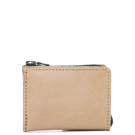ALTERIOR HALF ZIP WALLET - NATURAL