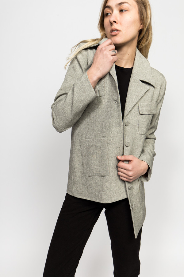 Maryam Nassir Zadeh Serafina Suit Jacket