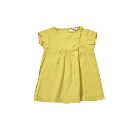 Kid's Caramel Lettuce Baby Dress