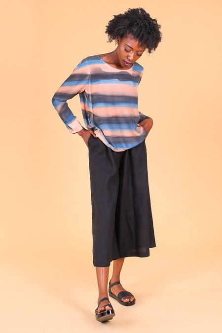 Raquel Allegra Sweatshirt in Black/Rose