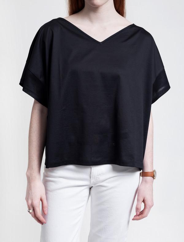 Derek Lam 10 Crosby Susanna T-shirt Dark Navy