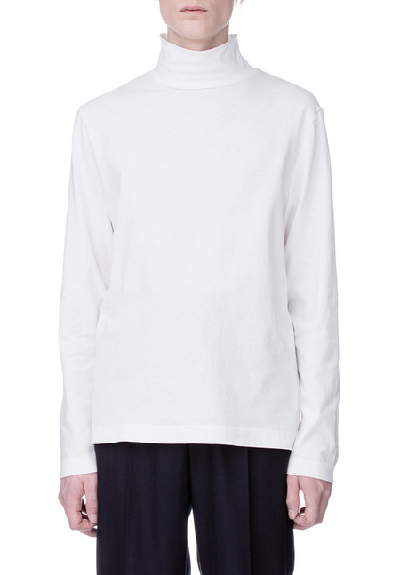 Our Legacy Army Jersey Turtleneck - White