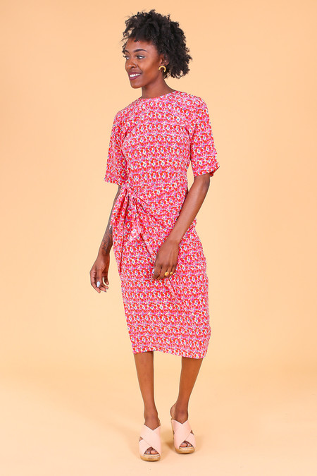 Tracy Reese The Convertible Wrap Dress in Croque en Bouche