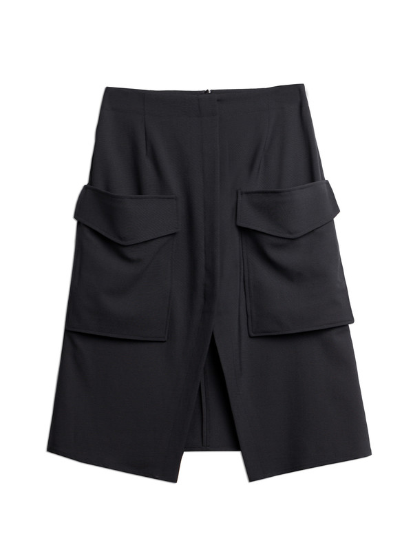 Derek Lam 10 Crosby Pine Patch Skirt