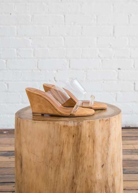Maryam Nassir Zadeh Olympia Wedge Whiskey