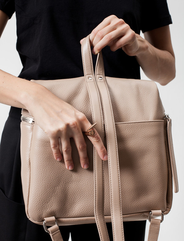 Kara Backpack | Taupe