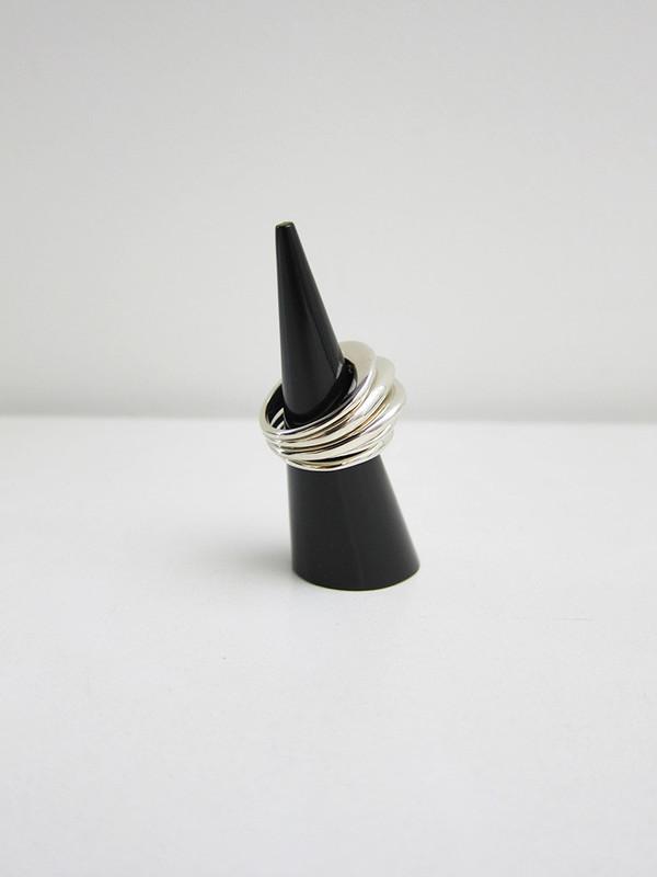 Samma EZ Stack Rings, White Brass