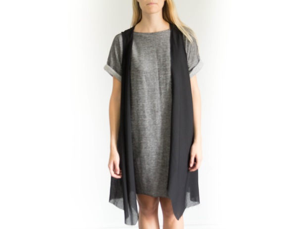 Devlyn van Loon Sheer Wool Blend Vest