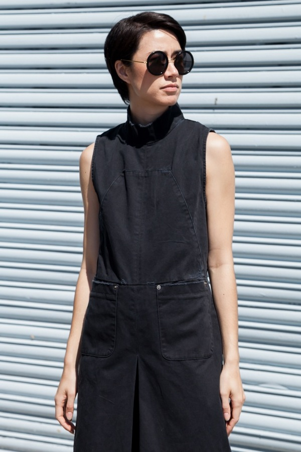 Rachel Comey Badge Suit - charcoal