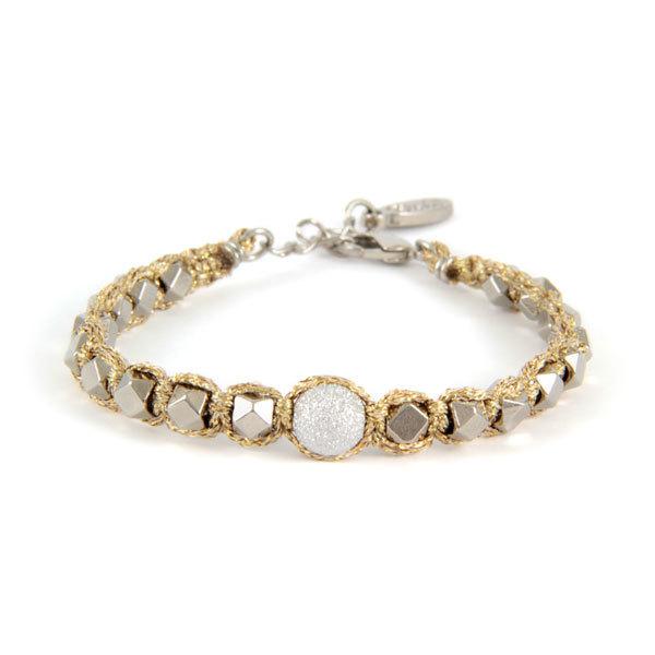Braided Silver / Gold Bracelet