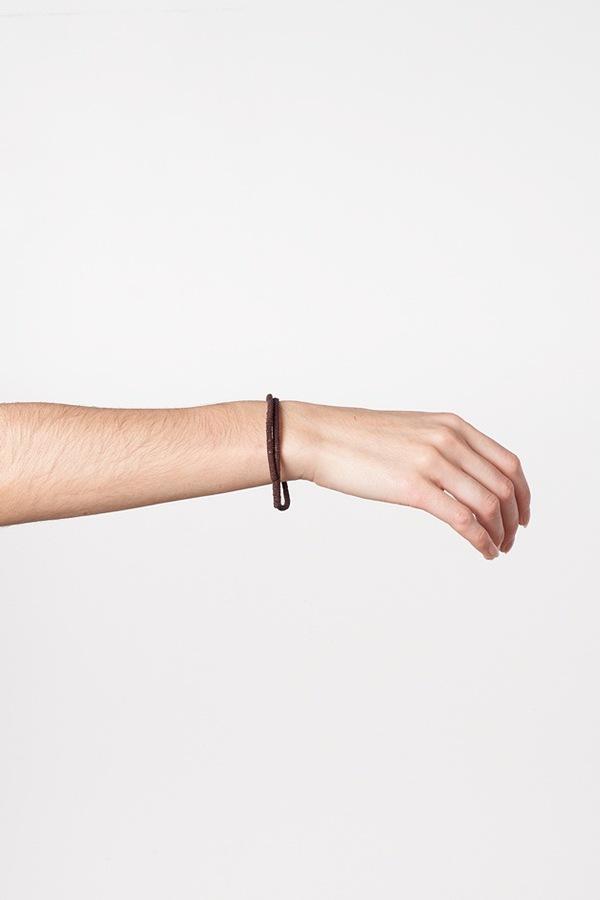WWAKE Chain Wrapped Bracelet-bronze