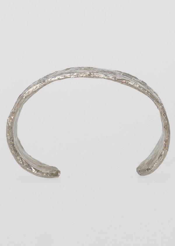 complexgeometries medium cuff | white brass