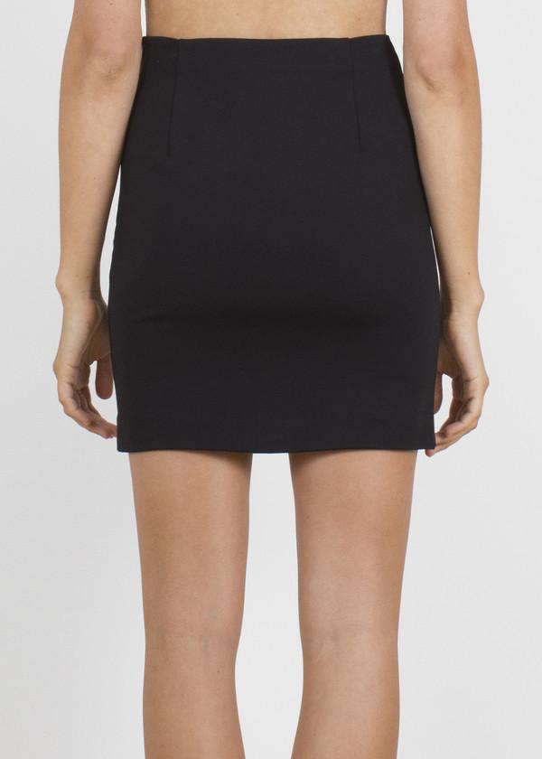slide skirt - black