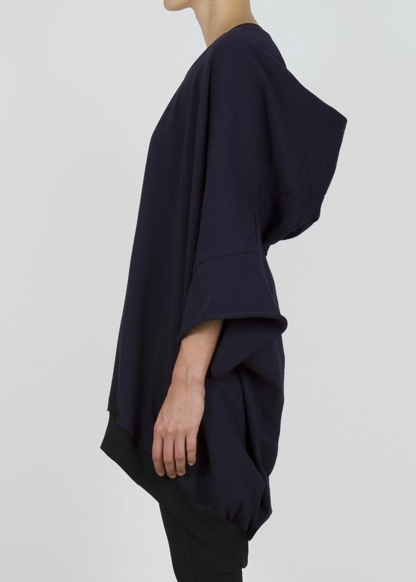 Unisex complexgeometries soft square hoodie | navy
