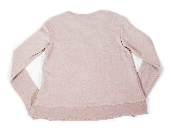 Wilt Striped Blush Sweater