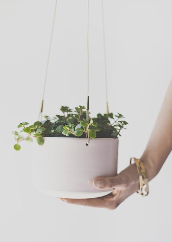 Maggie Boyd Ceramics - Hanging Planter / Jumbo