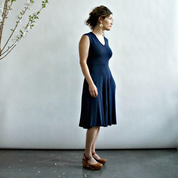 Mackenzie Dress by Curator in Black