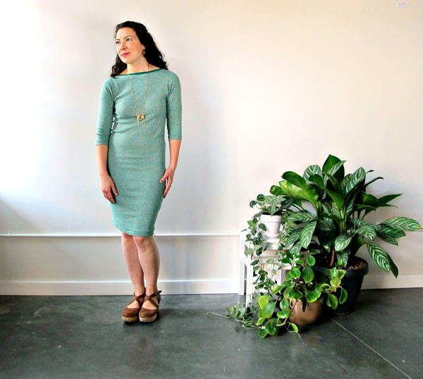 Curator Jude Dress | Green Stripes