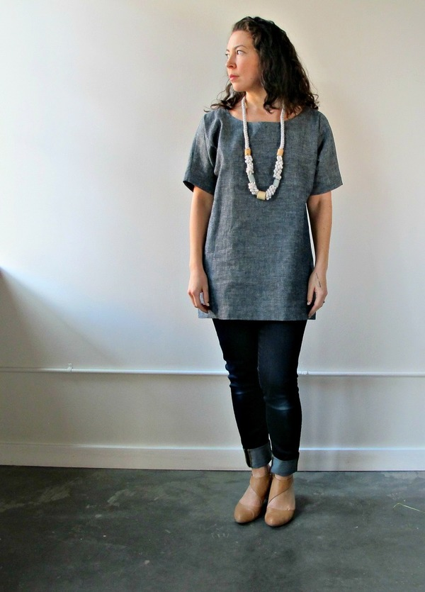 Jessalin Beutler Denim Tunic