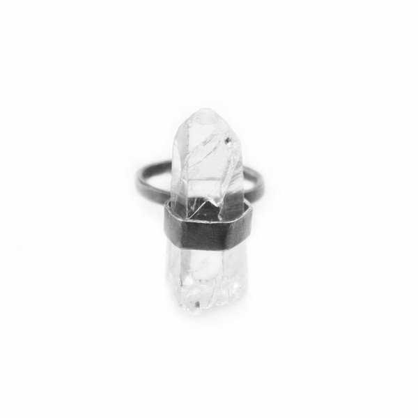 StillWithYou Caged Crystal Ring