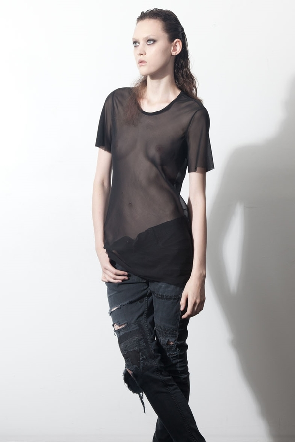 Alex Koutny Bias Cut Tee